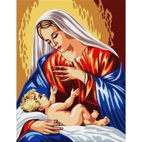 Гоблен със схема МАРИЯ И МЛАДЕНЕЦА