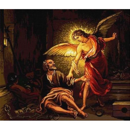 Гоблен със схема Петър, освободен от ангела