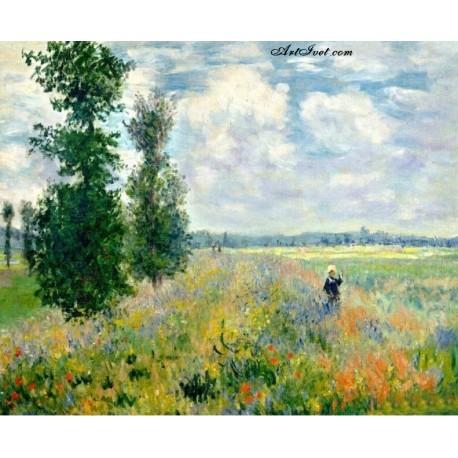 Рисуване по Номера (пълен комплект) -Безкрайно красиво поле