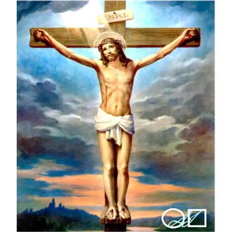 Диамантен гоблен ИСУС НА КРЪСТА