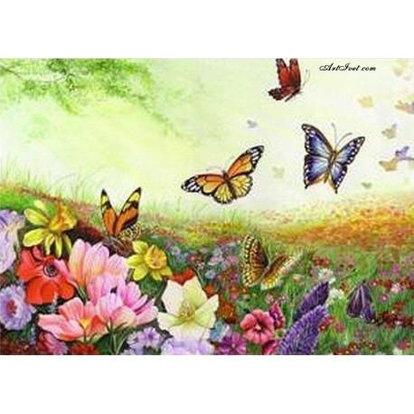Рисуване по Номера (пълен комплект) -Благословена пролет