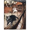 Рисуване по Номера (пълен комплект) - Коте на разходка