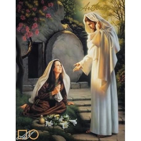 Диамантен гоблен ИСУС СЕ ЯВЯВА НА МАРИЯ МАГДАЛЕНА