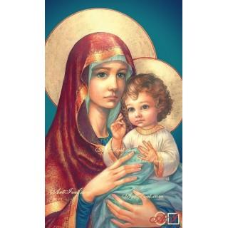 Диамантен гоблен МАЙКА МАРИЯ И МАЛКИЯТ ИСУС