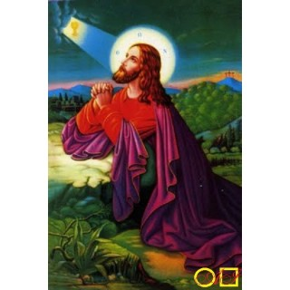 Диамантен гоблен ИСУС СЕ МОЛИ В ГЕТСИМАНСКАТА ГРАДИНА