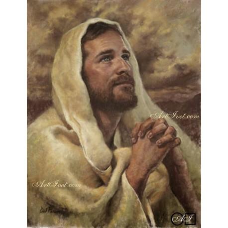 Диамантен гоблен МОЛИТВАТА НА ИСУС