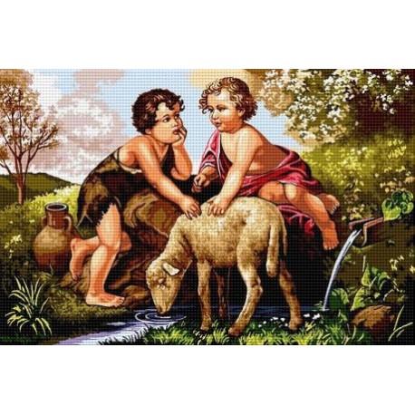 Гоблен Малки пастири