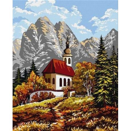 Гоблен Есен в планината
