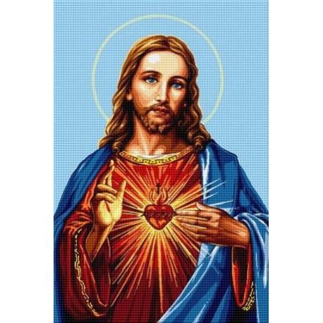Гоблен Христос ни обича