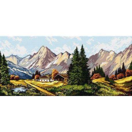 Гоблен Полета, планини и къщата на моите деди
