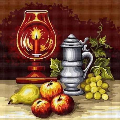 Гоблен Плодове с мека светлина