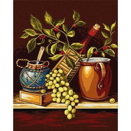 Гоблен Вино, мед и още нещо