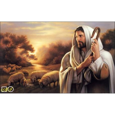 Диамантен гоблен ИСУС - ПАСТИР НАШ