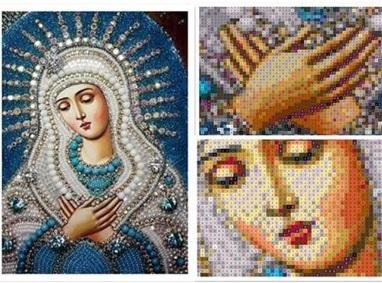 Дева Мария - синьо умиление