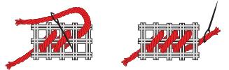 Инструкция за шиене щампи Худема`с типове B, C+, D, E и E+ - част 2